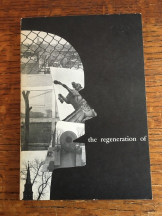 Glen Siebrasse's The Regeneration of an Athlete, published by Delta Canada in 1965.